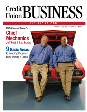 Credit Union Business Magazine July 2011