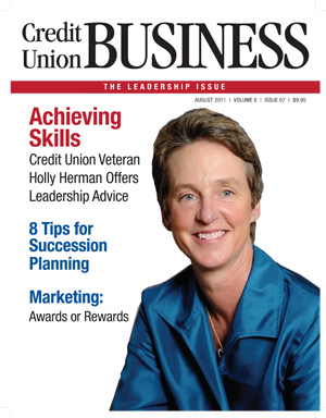 Credit Union Business Magazine, August 2011